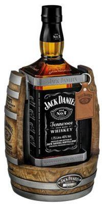 Jack Daniels Old No 7 whiskey 1.75L Cradle