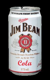 Jim Beam White Label Bourbon & Cola cans1