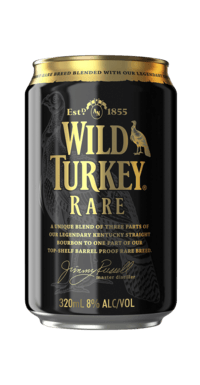 Wild Turkey Rare Bourbon Cola cans