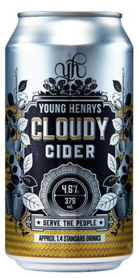 Young Henrys Cloudy Apple Cider