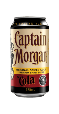 captain morgan cola cans 6