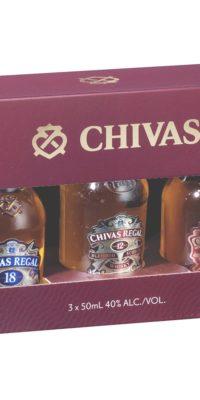 Chivas Mini's tasting gift pack
