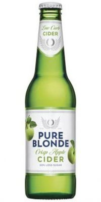 pure blonde apple cider