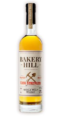Bakery Hill Cask Strength Peated Malt Single Malt Whisky