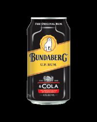Bundaberg U.P Rum & Cola cans