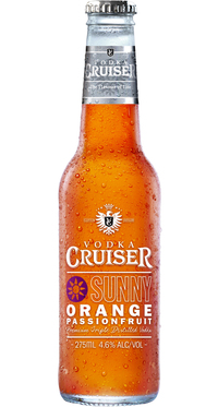 Vodka Cruiser Sunny Orange & Passionfruit
