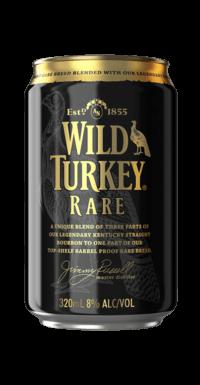 Wild Turkey Rare Bourbon Cola cans